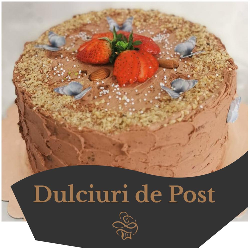 dulciuri de post DulcesaR Sibiu